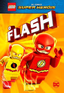 Lego DC Comics Super Heróis: O Flash - BDRip Dual Áudio