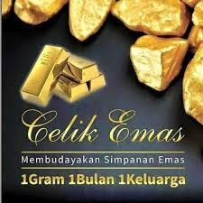 celik emas membudayakan simpanan emas