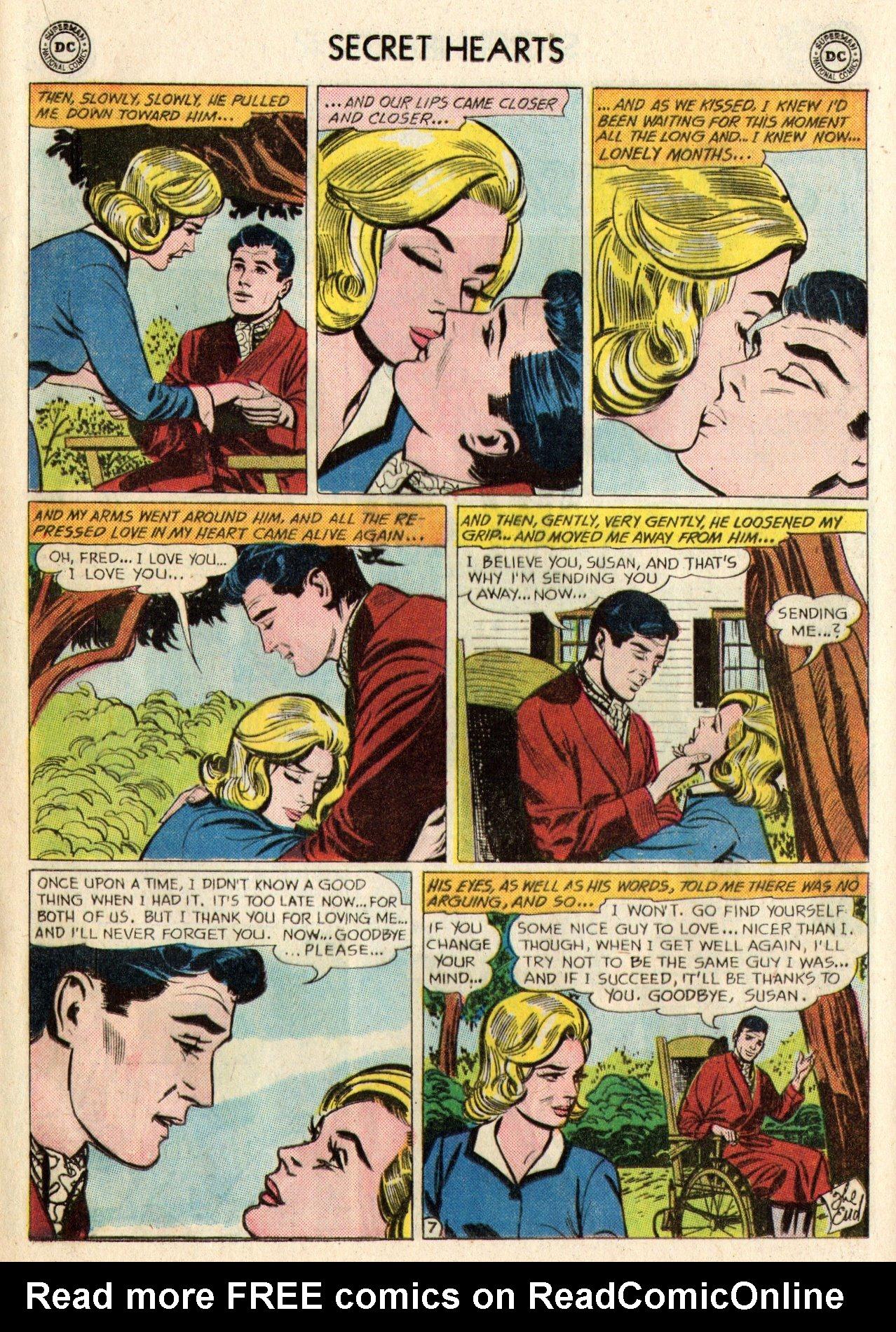 Read online Secret Hearts comic -  Issue #95 - 17