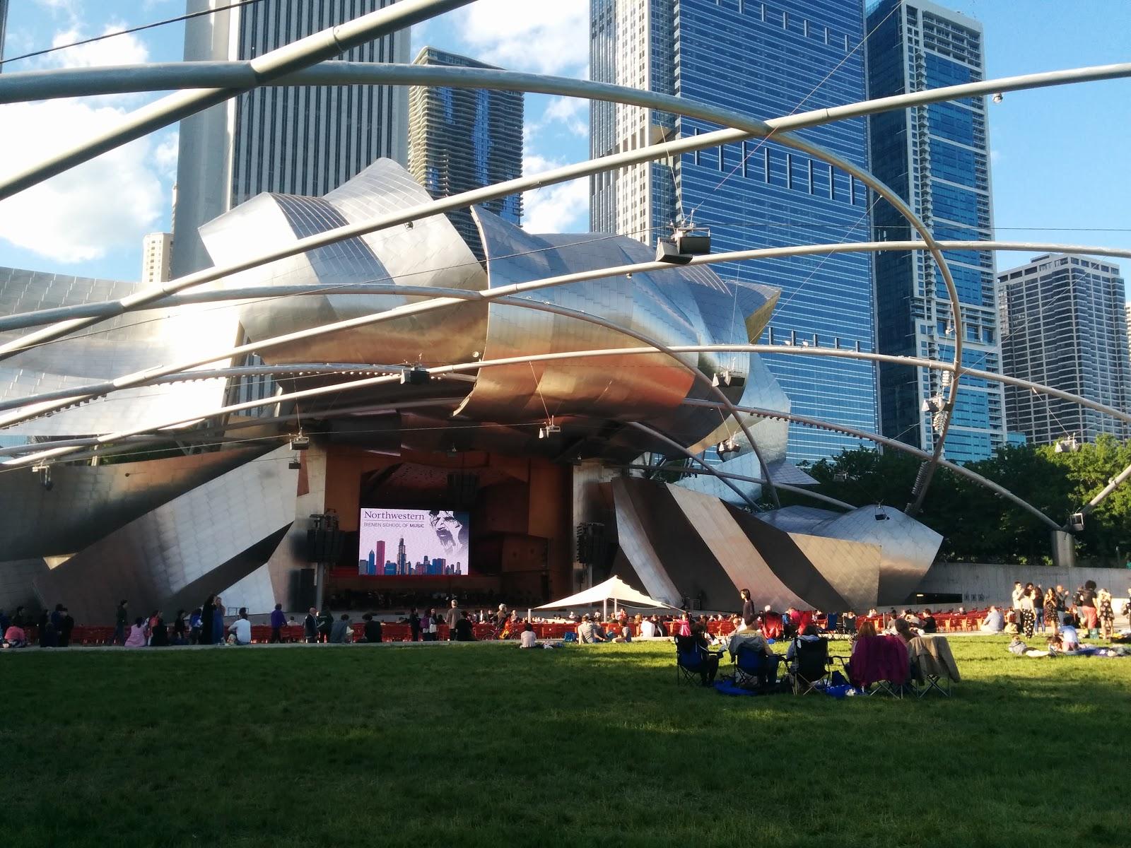 Pritzker Pavilion at Millennium Park - Frank Gehry