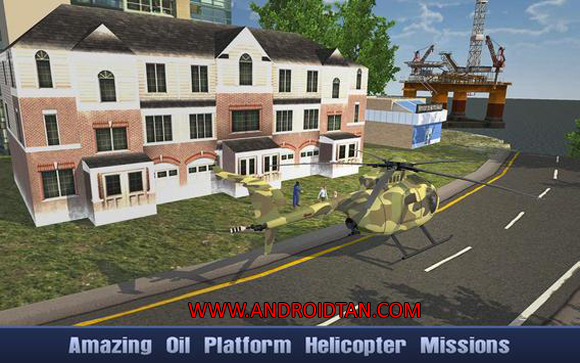 Offshore Oil Helicopter Cargo Mod Apk Free