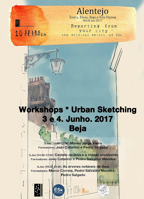 Workshops 10 Years 10 Classes Beja - 3 e 4 de Junho