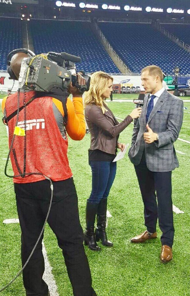 Of booted news women blog espn s molly mcgrath knows the score
