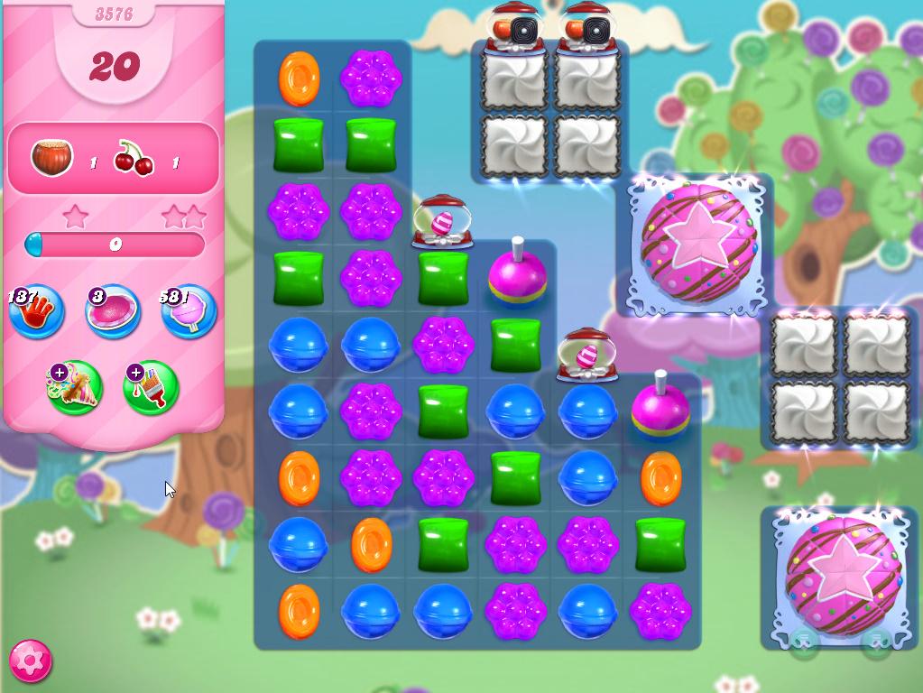 Candy Crush Saga level 3576
