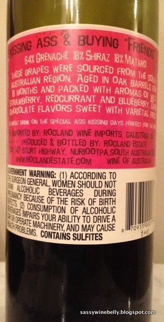 Ass Kisser Wine 16