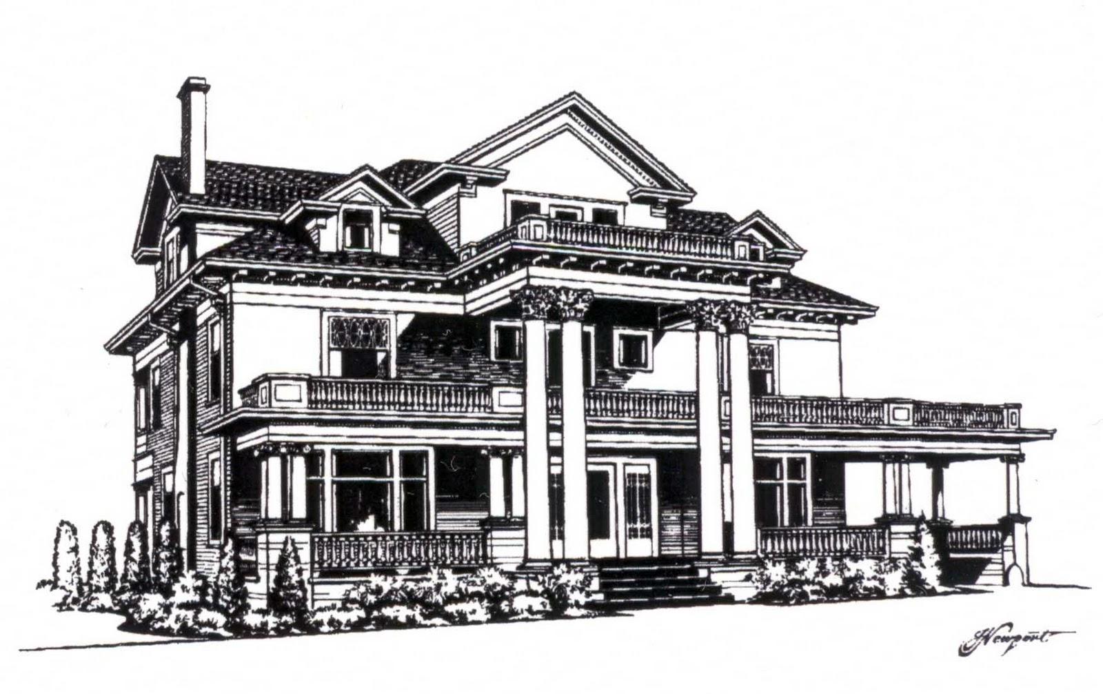 Spanish Villa House Plans Via Margutta 51 When I Say You Say 8 Mansion