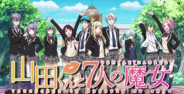 Yamada-kun to 7-nin no Majo - Daftar Anime Mirip Charlotte