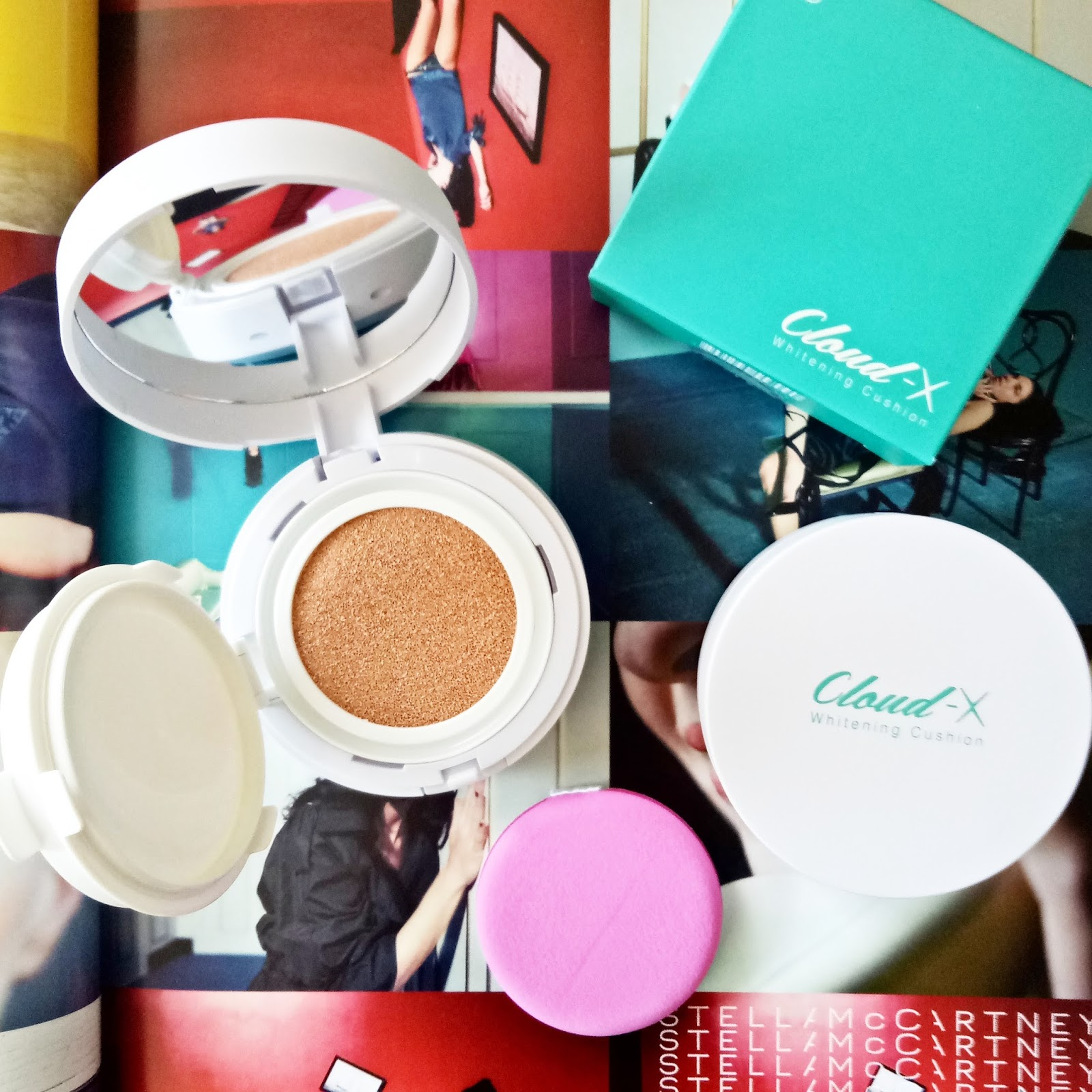 Cloud X Whitening Cushion, September Collection, Korean Products Iloilo