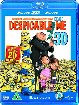 Despicable Me (2010) Movie 1080p 3D & 720p BluRay
