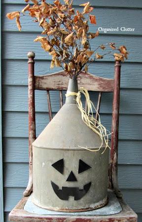 Junk Jack o'lantern