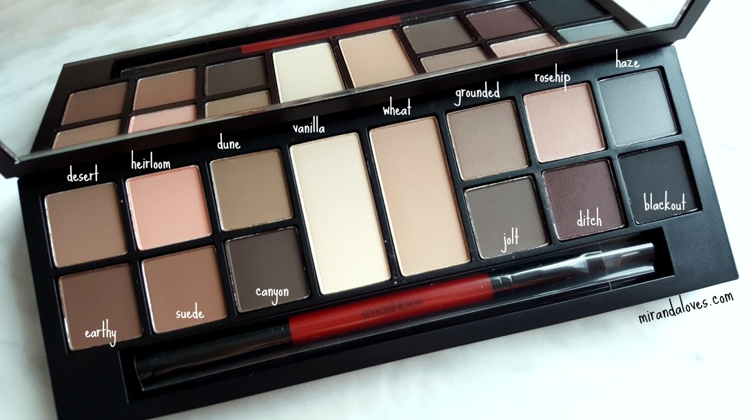Review Tutorial Smashbox Photo Matte Eyes Palette And More From