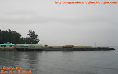 View of Danao Pier at Danao City.