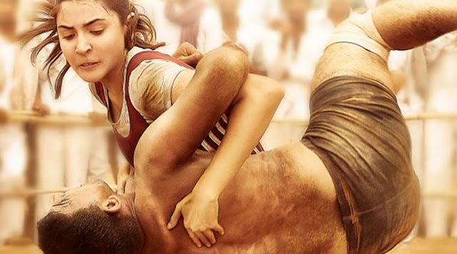 Anushka Sharma as Aarfa in Sultan, Wresting a man, State champion