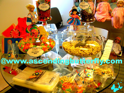 Dylans Candy Bar Treat Station at Madame Alexander Dolle & Me 90th Anniversary event at the new midtown Manhattan New York City Headquarters
