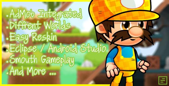 Super Mario Clone Admob Android Studio Codecanyon