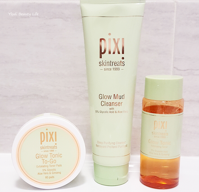 pixi by petra review glow mud cleanser and glow tonic