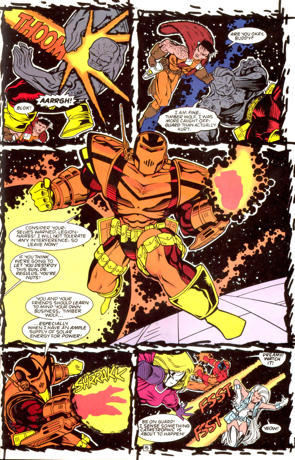 Legion of Super-Heroes (1989) 52 Page 15