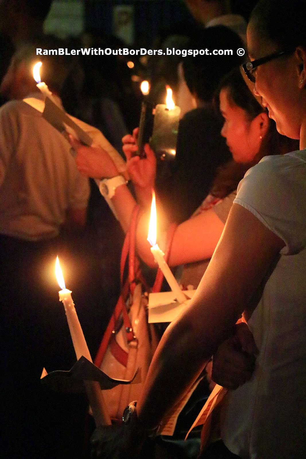 Attendant of Good Friday Candle-Light Procession, St Joseph's Church, Victoria St, Singapore