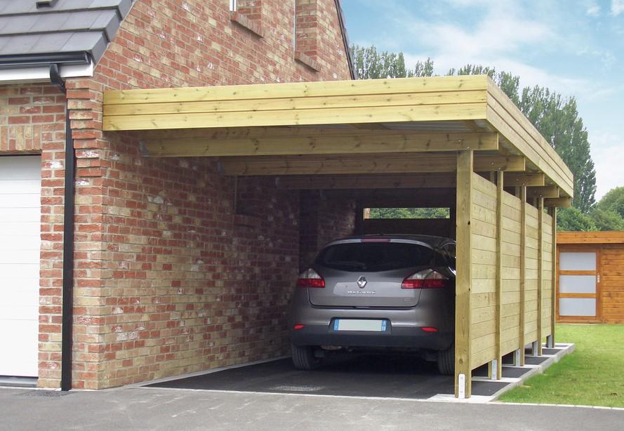 36 Model Garasi Samping Rumah Minimalis Yang Modern Terbaru