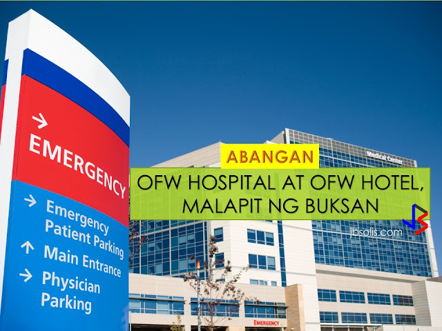 "OFW Hospital for our ""Bagong Bayani "" is one of the many programs that Duterte's Administration promised to the ofws.   It is also his most mentioned plan on his recent visits to countries where numbers of ofws resides. Countries like Middle East, Malaysia, Thailand to mention. With this video we can say that it is close now to reality having an OFW Hospital.  In a recent interview done by RJ Nieto a.k.a. ""Thinking Pinoy"" to Mario Espinosa, the President and Ceo of PNCC (Philippine National Construction Corporation. PNCC is a government corporation under the Office of the President. He is one of the many spearheading the project .   According to his interview the proposed hospital will be later called 'Bagong Bayani Medical Institute'.  The hospital will be erected in a one hectare land located at Macapagal Blvd. near GSIS Building in Pasay City. The 16 storey building will not only comprise of hospital floors, but of facilities such as Operating room, Ob Gyne, Special Laboratory, Chapel, Emergency and Pharmacy, 406 rooms is expected. According to Mario Espinosa the ofws and their families can expect a high end hospital in tribute to our new heroes. There will be an attached agencies that will be nearby the hospital such as OWWA, Philhealth, NSO, passport renewal and the like that will give ease to the OFWs. The chinese investors and PNCC had already signed the Memorandum of Understanding (MOU) to materialize the plan. From the feasibility studies he showed to RJ Nieto it will be only the signature of the President and other legalities to start the project.     How to avail the service of the OFW Hospital. No less than by presenting any proof of your legitimacy being an OFW, an OFW ID is one. "" We are now in the architectural design of the building"", Espinosa said."