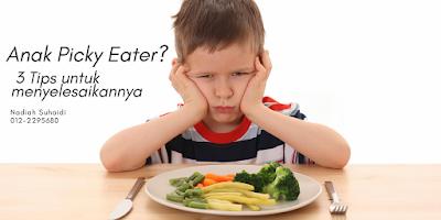 Anak Picky Eater? 3 Tips untuk Menyelesaikannya