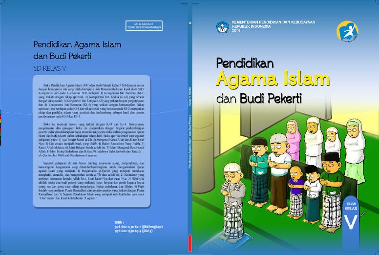 Download Gratis Buku Siswa Pendidikan Agama Islam dan Budi Pekerti Kelas 5 SD Kurikulum 2013 Format PDF