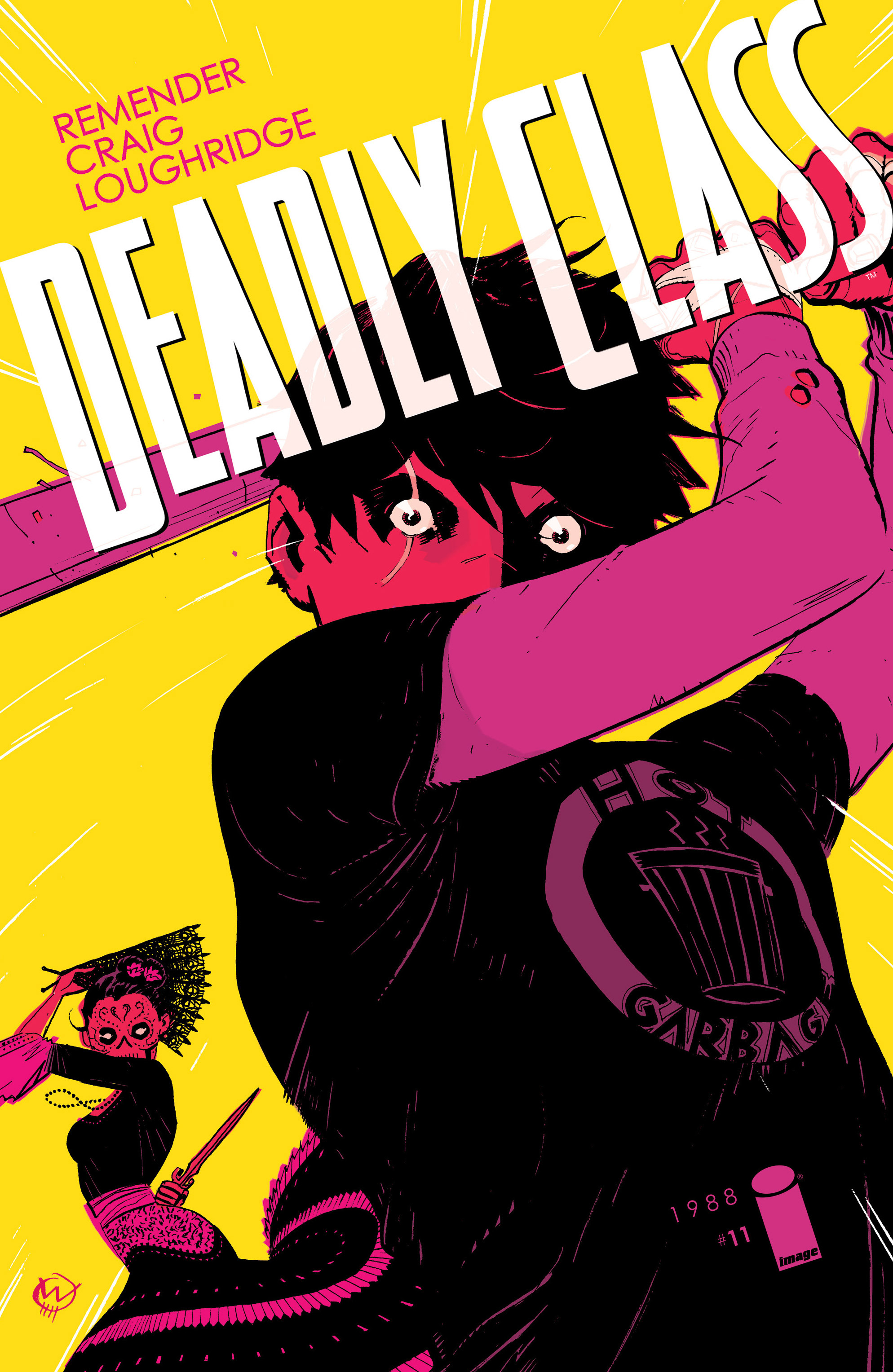 Read online Deadly Class comic -  Issue #11 - 1