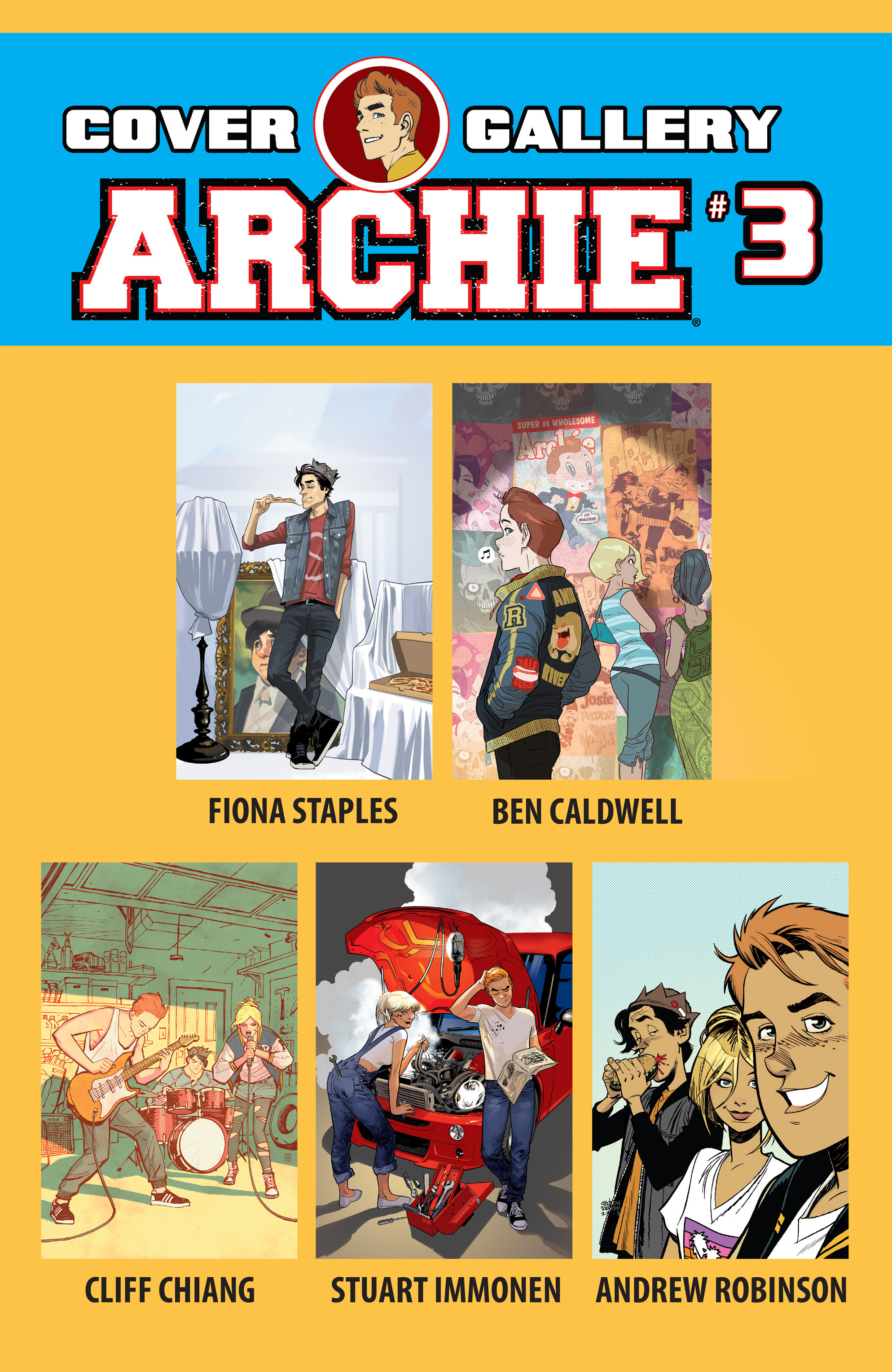 Read online Archie (2015) comic -  Issue #3 - 31