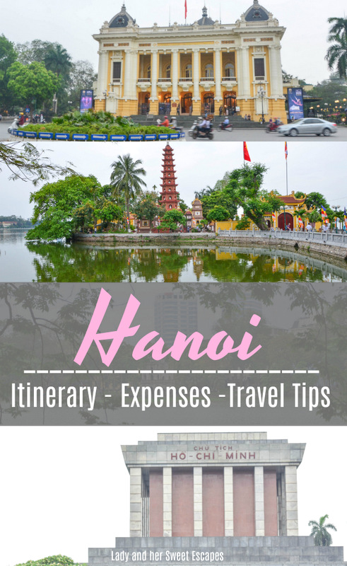 Hanoi Travel Pinterest