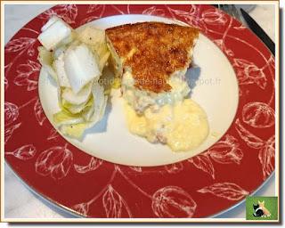 Vie quotidienne de FLaure : Flan à la tome fraîche et pancetta