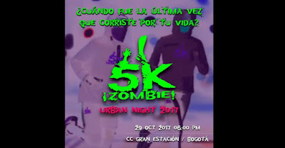 5k ¡Zombie! Urban Night 2017 3