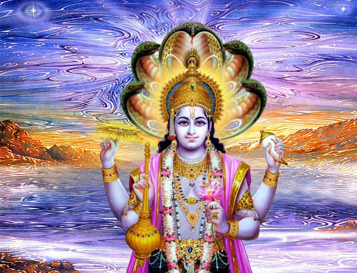 Hindu god vishnu wallpaper vishnu photo dharmik god - God images wallpapers ...