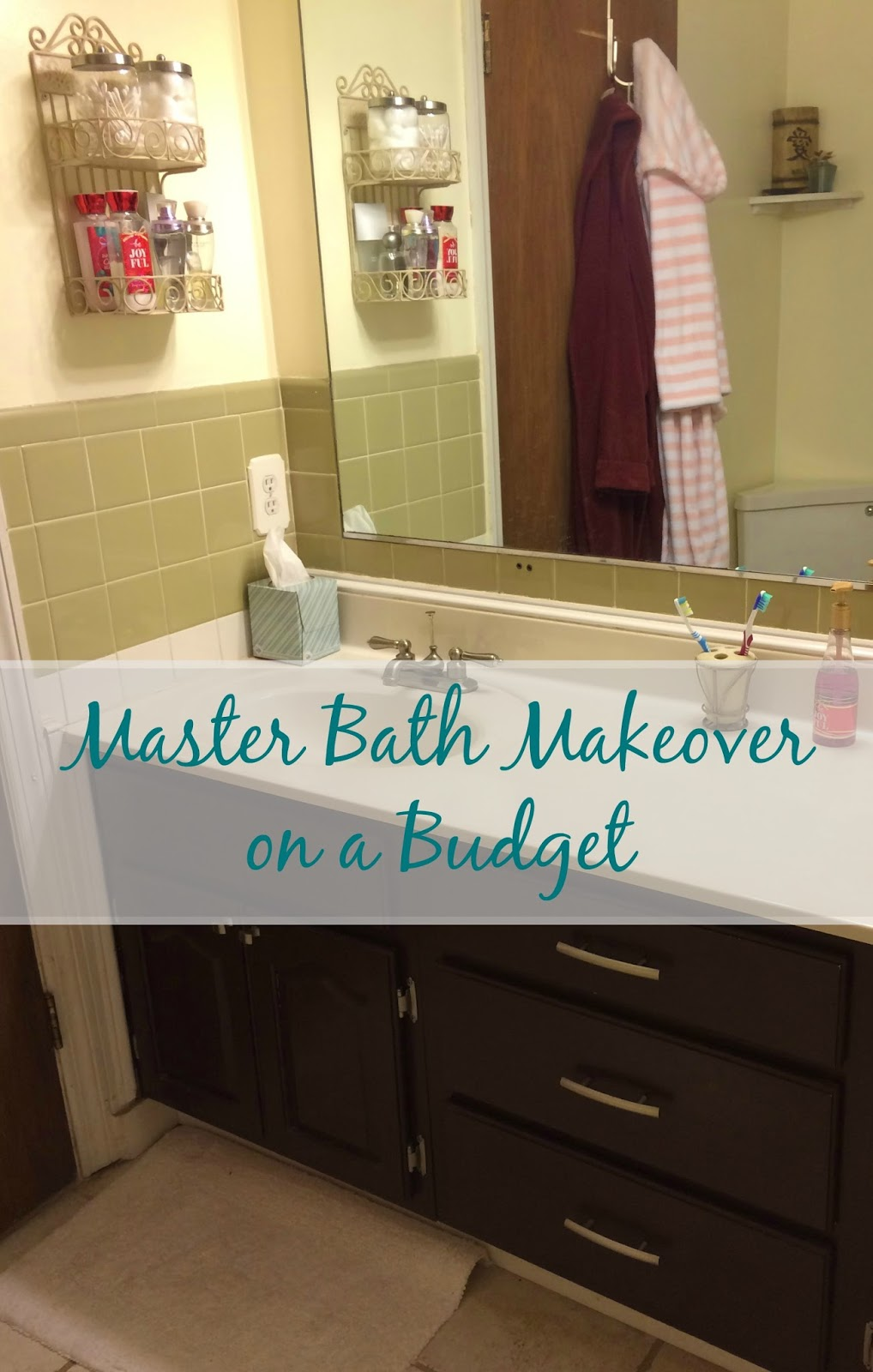 Real Bathroom Makeovers real girl's realm: master bath makeover on a budget