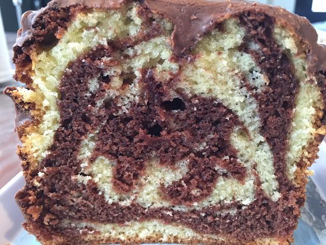 Le cake marbré facile et rapide