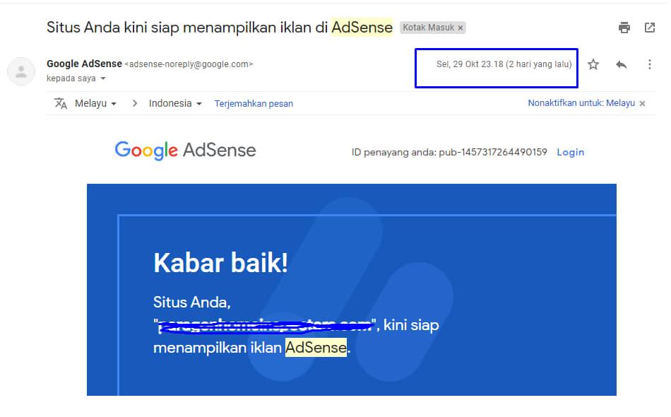 Add site melalui PGP