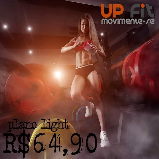 Promoção especial para treinar na UP Fit 64,90