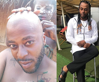 Nollywood actor Benson Okonkwo i shaved off my hair for 150k extra