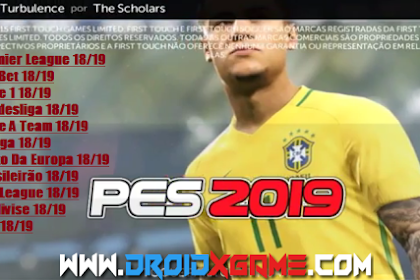 Download Game Android FTS 19 Mod PES 2019 Full Transfers Terbaru