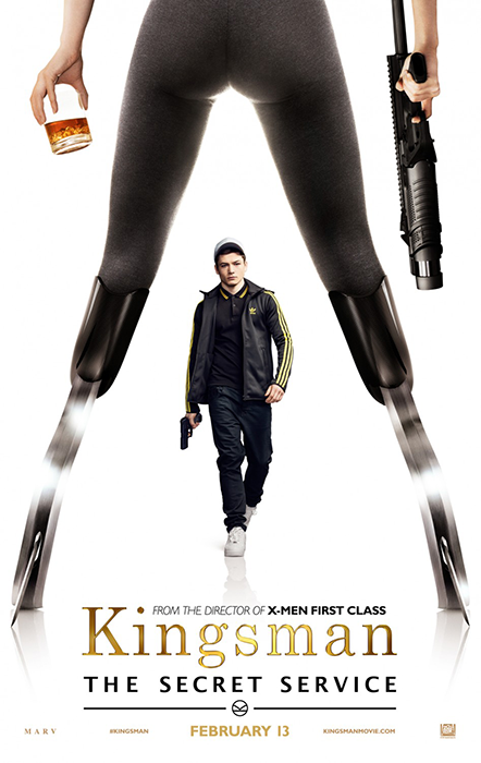 Kingsman The Secret Service Poster: Taron Egerton