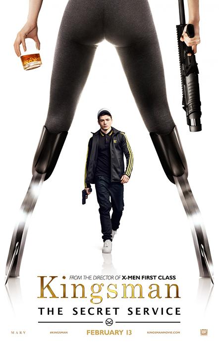 Kingsman The Secret Service Poster: Taron Egerton