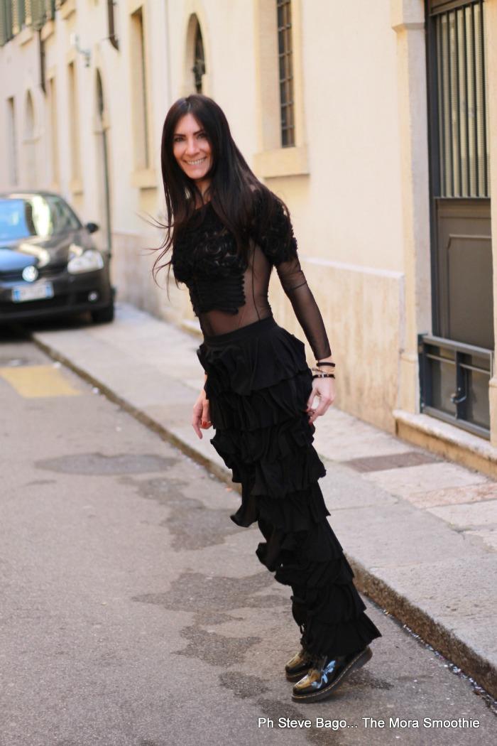 paola buonacara, fashion, fashion blog, fashion blogger, italian fashionblog, italian fashionblogger, fashion blogger italiana, ootd, outfit, look, freedastudio,rouches, pantaloni con rouches, look giorno sera, look sera, streetstyle, milano fashion week, fashion week, come abbinare il body, body, body rouches, come indossare pantaloni con rouches, come indossare le rouches