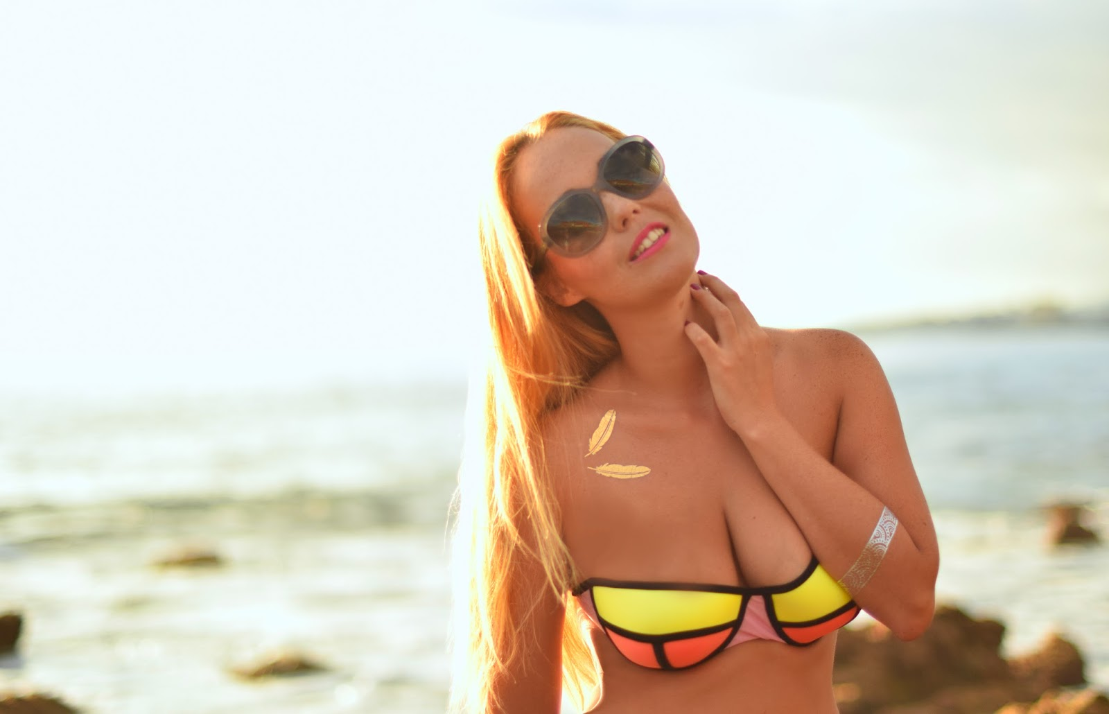 nery hdez, lucluc , bikini, flash tattoo, triangl clone, opticalh , optica herradores