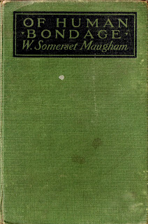 Cover of Of Human Bondage, novel by W. Somerset Maugham, first edition 1915