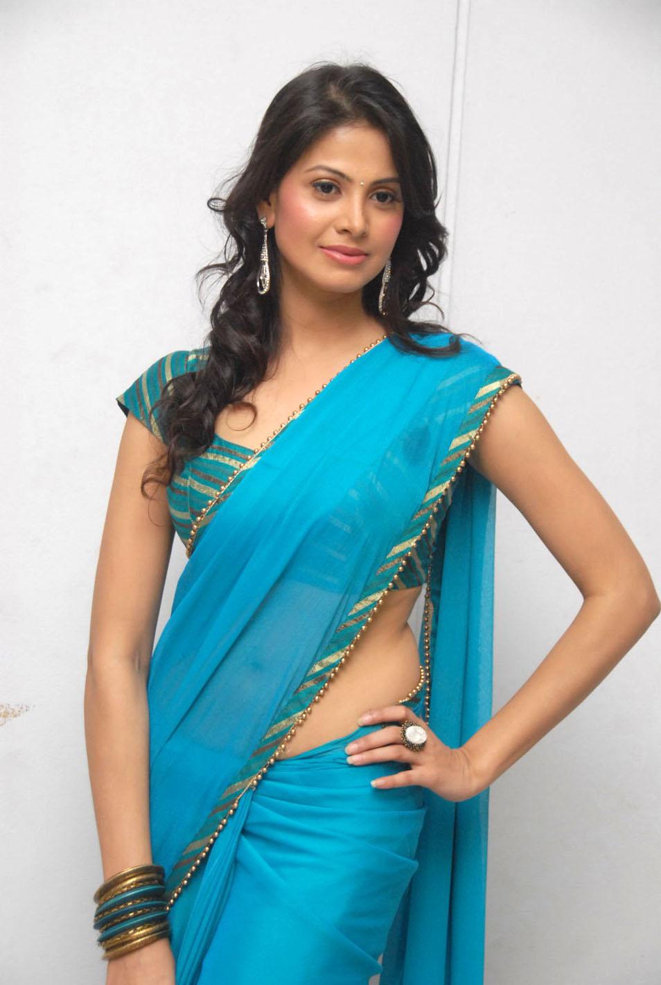 hot saree pics of telugu actress