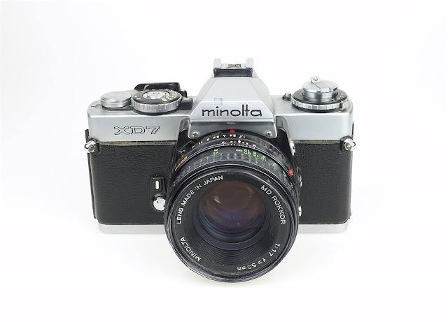 Minolta XD7 (Japan, 1977-1984)