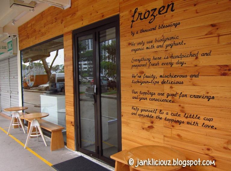 Frozen by a Thousand Blessings: Australian froyo in Singapore heartlands
