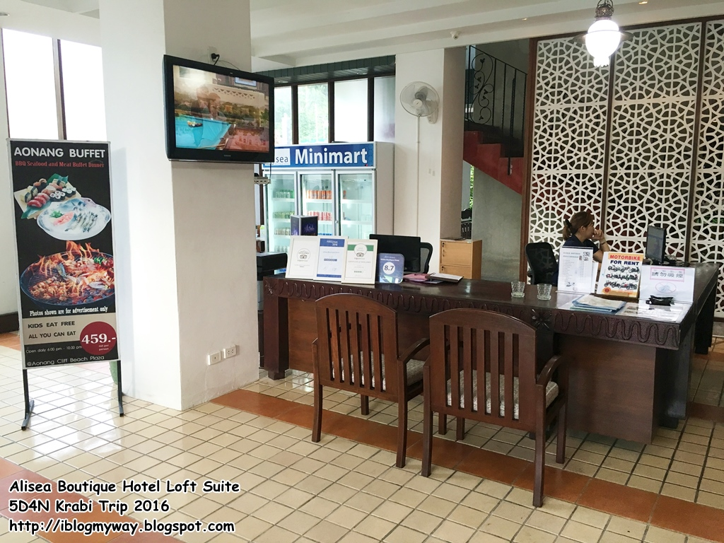 Alisea boutique hotel 5d4n krabi trip 2016 i blog my way for Boutique hotel krabi