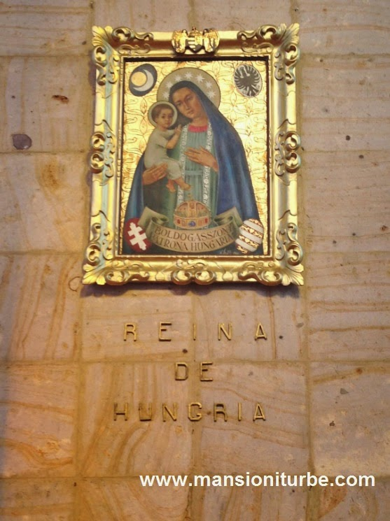 Virgin of Hungary at the Fatima's Shrine in Tacambaro