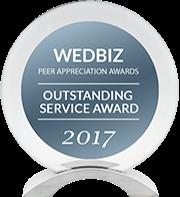 DJ:Plus! Entertainment Awarded Outstanding Service Award & Creative Talent Award in 2017 WedBiz Peer Appreciation Awards