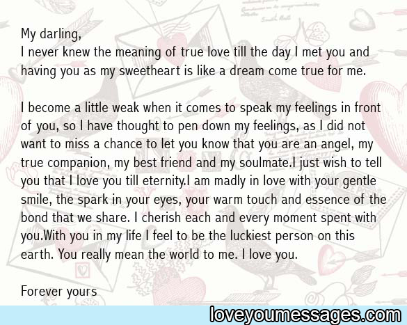 the best love letter